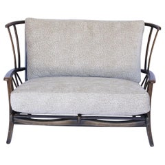 Newly Upholstered Antique English Settee