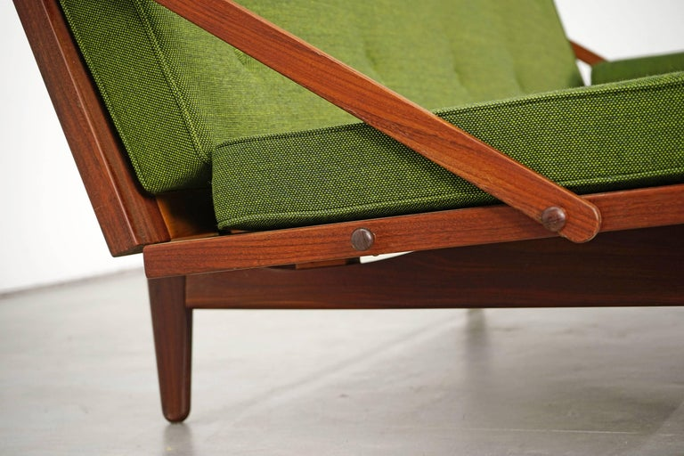 Newly Upholstered Daybed by Poul M. Volther for Frem Røjle, 1950s For Sale 4