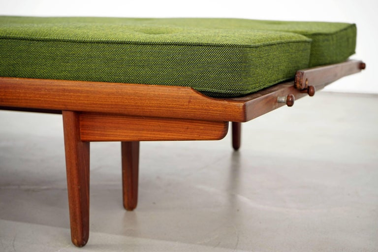 Newly Upholstered Daybed by Poul M. Volther for Frem Røjle, 1950s For Sale 6
