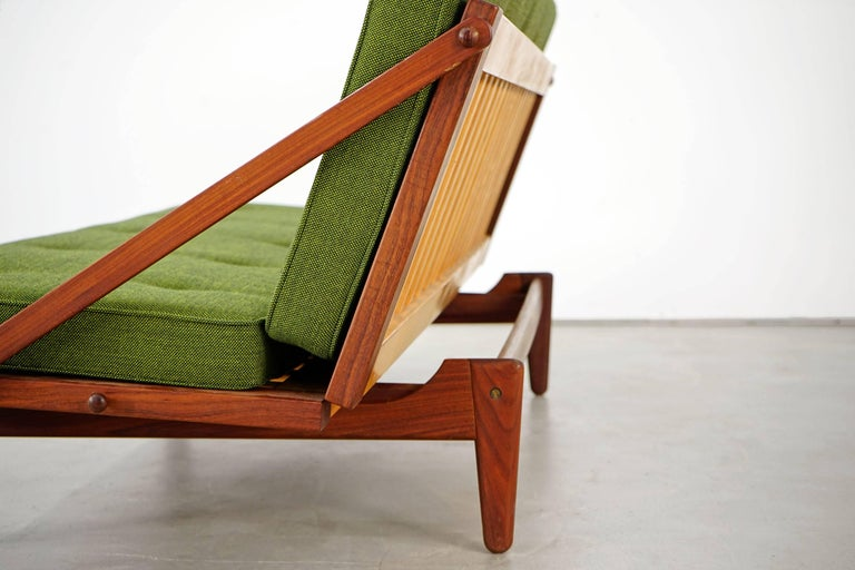 Newly Upholstered Daybed by Poul M. Volther for Frem Røjle, 1950s For Sale 11