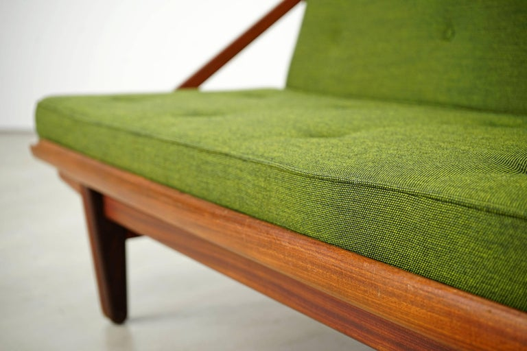Newly Upholstered Daybed by Poul M. Volther for Frem Røjle, 1950s For Sale 12