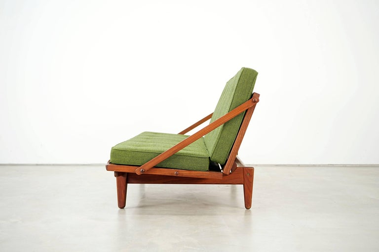 Scandinavian Modern Newly Upholstered Daybed by Poul M. Volther for Frem Røjle, 1950s For Sale