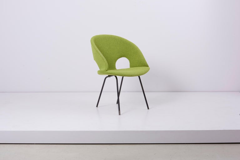 Mid-Century Modern Newly Upholstered Model 350 Lounge Chair by Arno Votteler Walter Knoll For Sale
