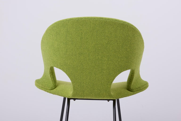 Mid-20th Century Newly Upholstered Model 350 Lounge Chair by Arno Votteler Walter Knoll For Sale