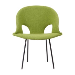 Newly Upholstered Model 350 Lounge Chair by Arno Votteler Walter Knoll