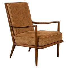 Newly Upholstered Rare T.H. Robsjohn-Gibbings Model 1716 for Widdicomb Armchair