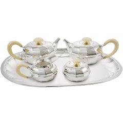 Newport Five-Piece Coffee and Tea Set