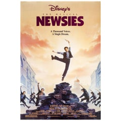 Newsies 1992 U.S. One Sheet Film Poster