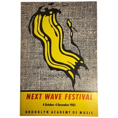 Next Wave Festival Catalog with Roy Lichtenstein Cover