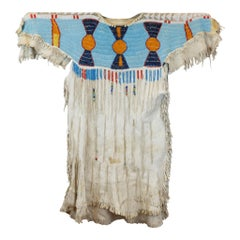 Authentic Native Nez Perce Dress with Beaded Drops