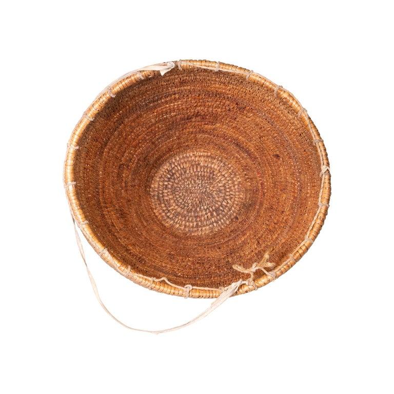 Native American Nez Perce Huckleberry Basket, circa 1880 For Sale