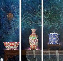 Original Chinese ceramic painting Contemporary Art 21st Century