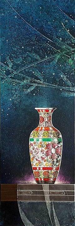Original Chinese ceramic painting  II