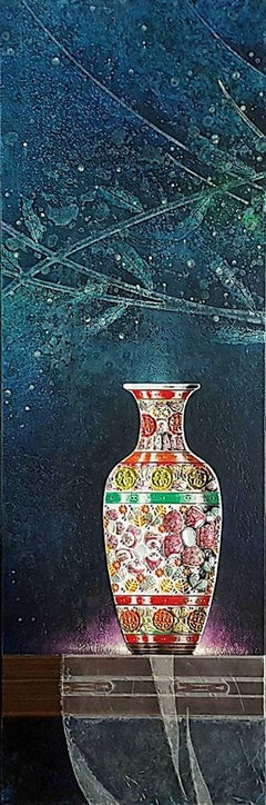 Original Chinese ceramic painting  II