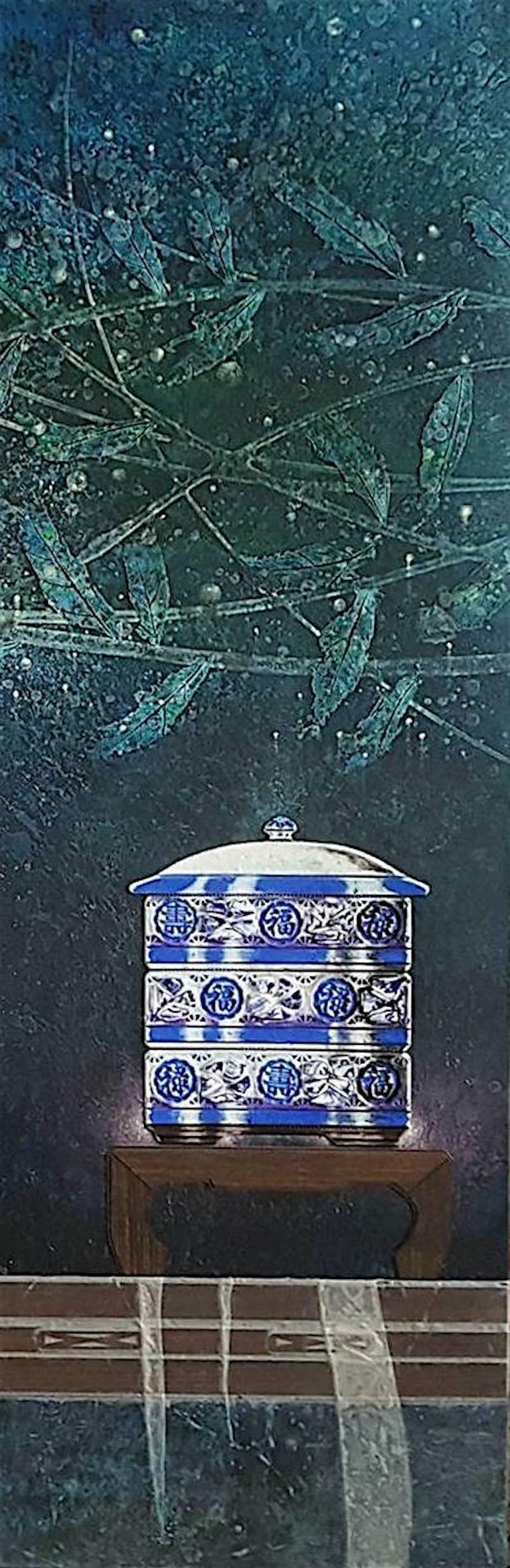 Original Chinese ceramic painting  III