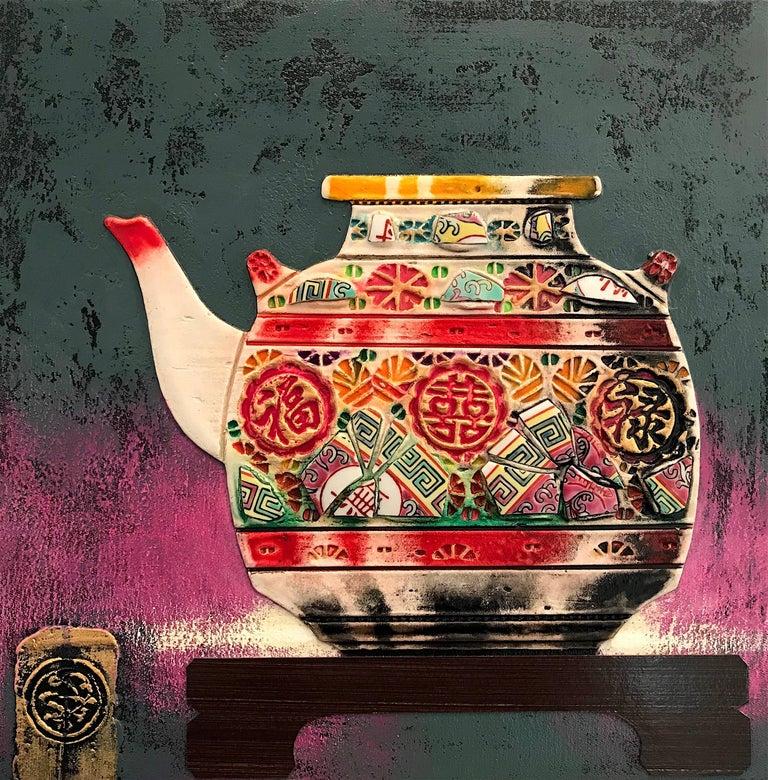 Prosperity  Original ceramic  still life painting