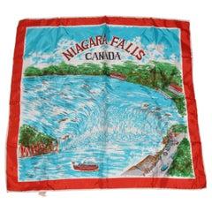 """Niagara Falls"" Wonderfully Vivid Detailed Scarf"