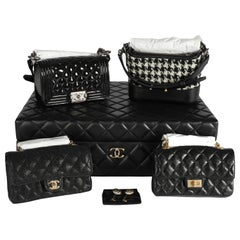 NIB Chanel Success Story Set of 4 Mini Bags and Trunk