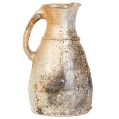 Nic Collins Large Studio Pottery Stoneware Jug, 20th Century