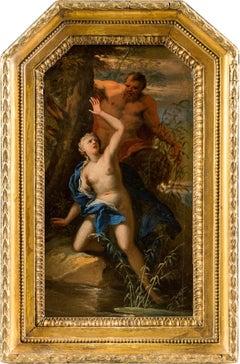 18th century Italian Mythological painting, Figure Venetian Oil on canvas Venice