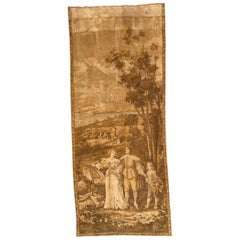Nice Antique Aubusson Style French Jaquar Tapestry