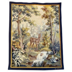 Nice Antique Aubusson Tapestry