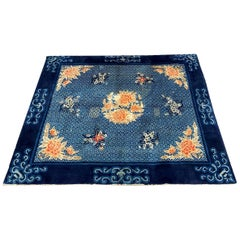Nice Antique Floral Chinese Rug