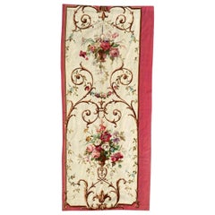 Nice Antique French Aubusson Tapestry Panel