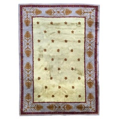Nice Antique French Savonnerie Rug