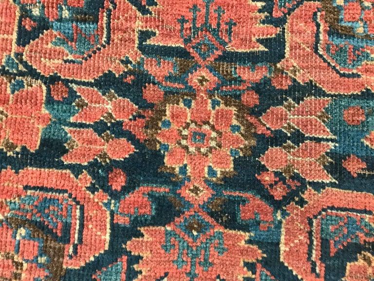 Nice Antique Long Beshir Afghan Rug For Sale 6