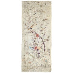 Nice Antique Silk Chinese Embroidery