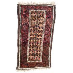 Nice Antique Tribal Balutch Rug