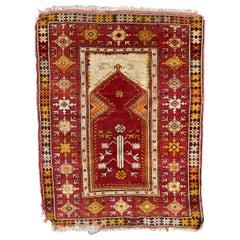 Nice Antique Turkish Anatolian Rug