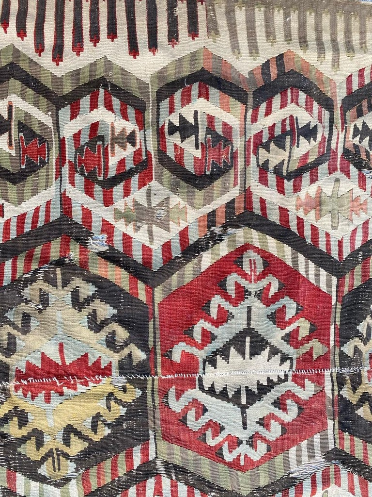 Nice Antique Turkish Long Kilim For Sale 2