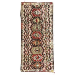 Nice Antique Turkish Long Kilim