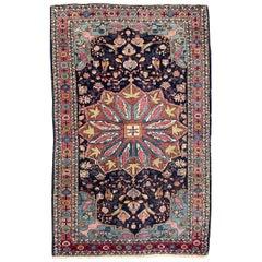 Nice Antique Yazd Rug