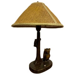 Nice Art & Crafts Woodworker Table Lamp