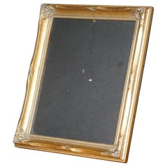 Nice Asprey London Giltwood Vintage French Art Deco Styled Table Picture Frame