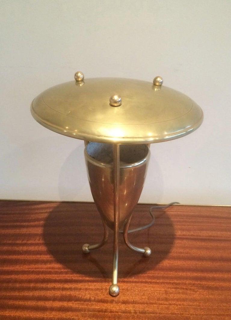 Nice Brass Lamp, circa 1950 For Sale 7