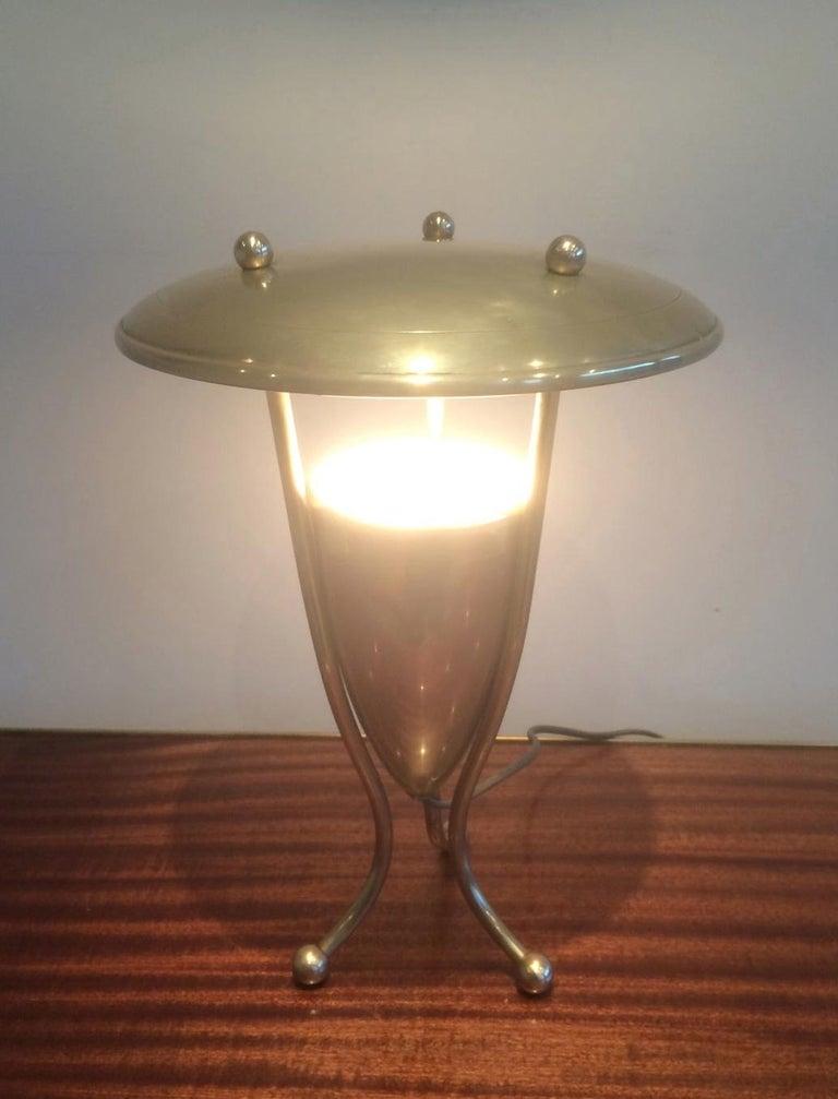 Nice Brass Lamp, circa 1950 For Sale 9