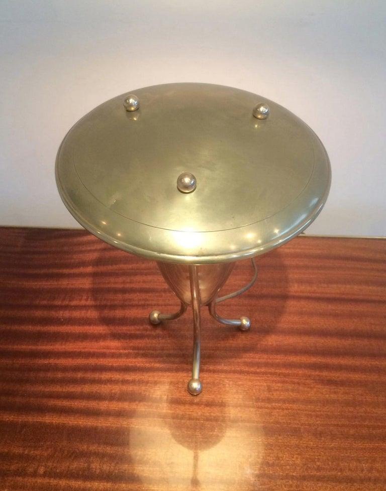 Nice Brass Lamp, circa 1950 For Sale 3