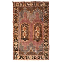 Nice Fine Antique Turkish Konya Rug
