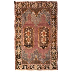 Nice Fine Antique Turkish Konya Rug