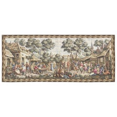 Nice French Jaquar Gobelin Aubusson Style Tapestry