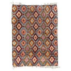 Nice Geometrical Design Berbere Moroccan Rug