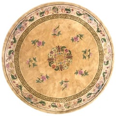 Nice Hand Tufted Round Chinese Hand Tufted Rug