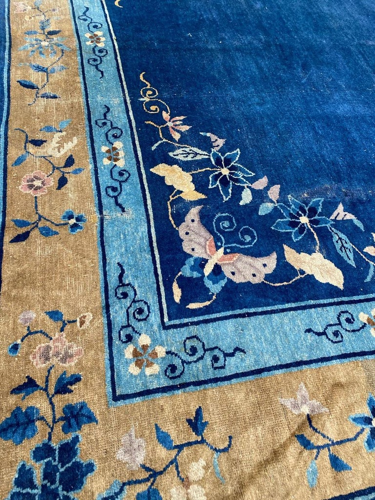 Nice Large Antique Chinese Rug For Sale 3