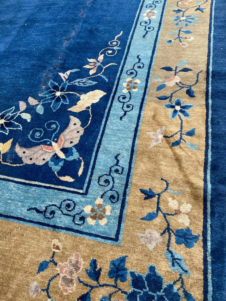 Nice Large Antique Chinese Rug For Sale 4
