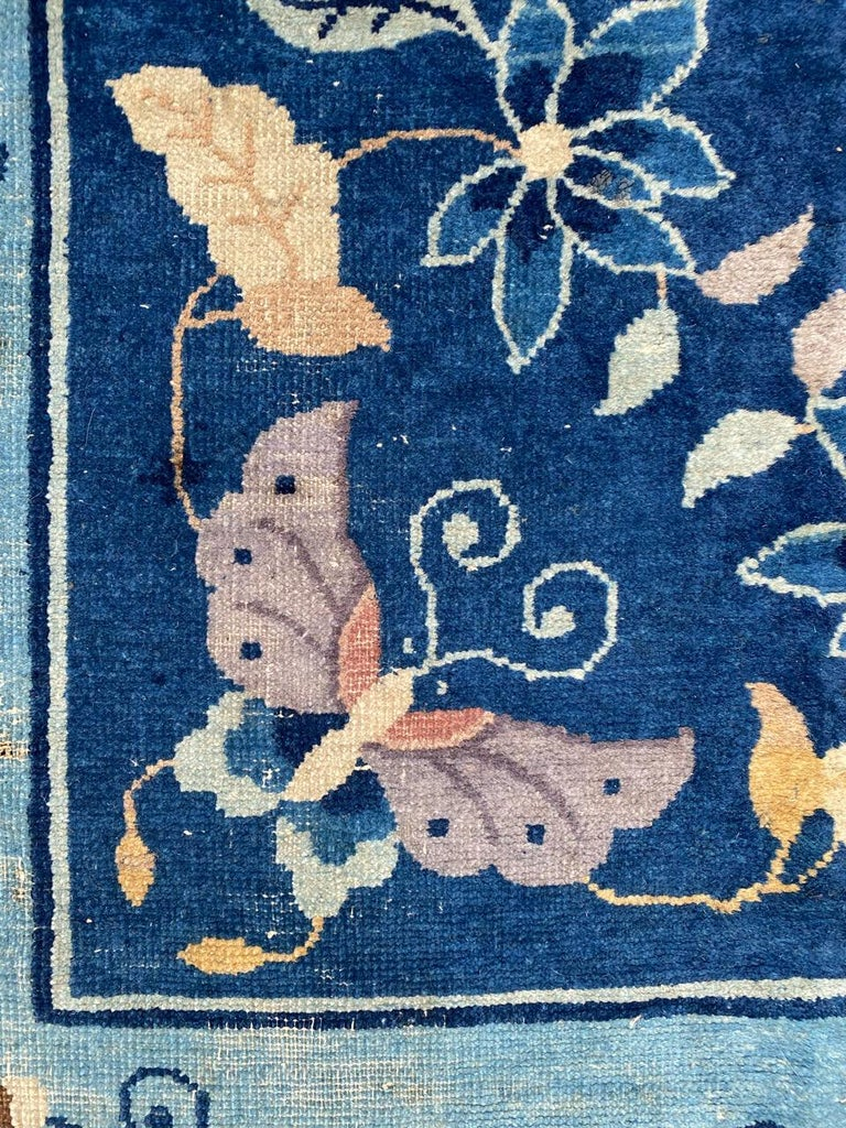 Nice Large Antique Chinese Rug For Sale 8