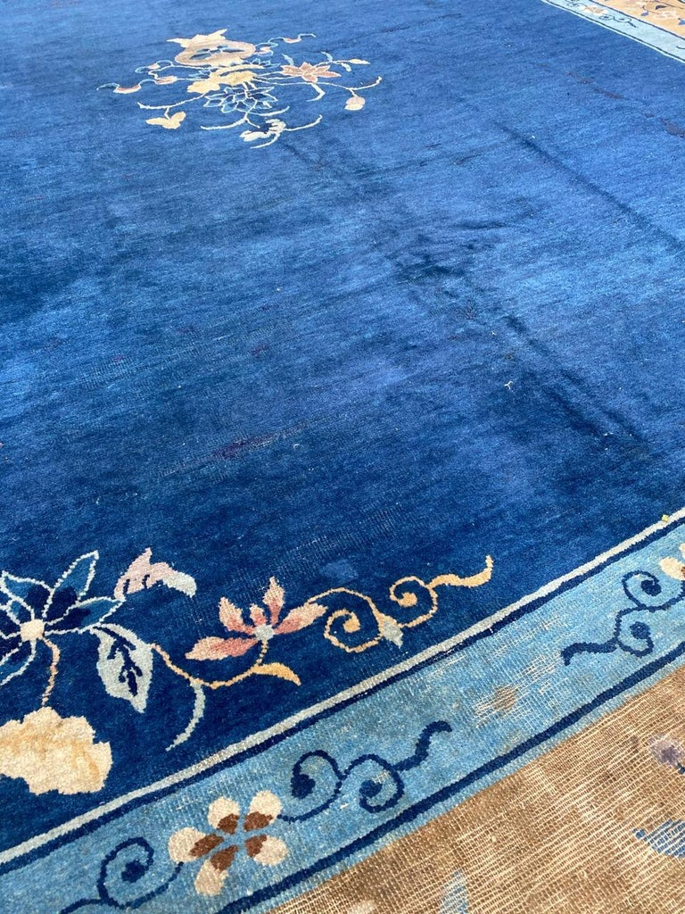 Nice Large Antique Chinese Rug For Sale 9